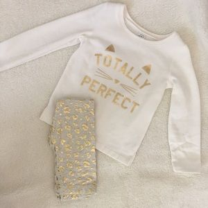Carter's Toddler Girl Sweatshirt & Legging Set